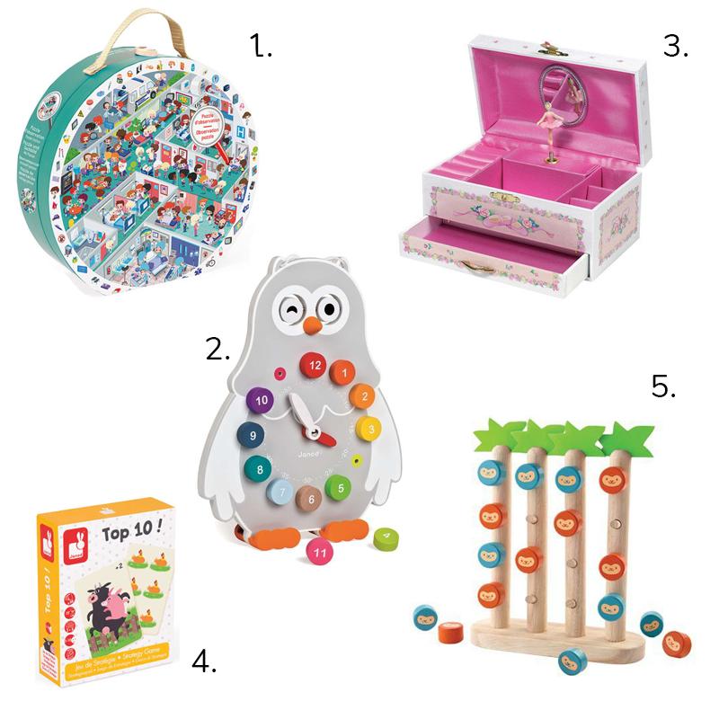 zabawki dla 5 latka